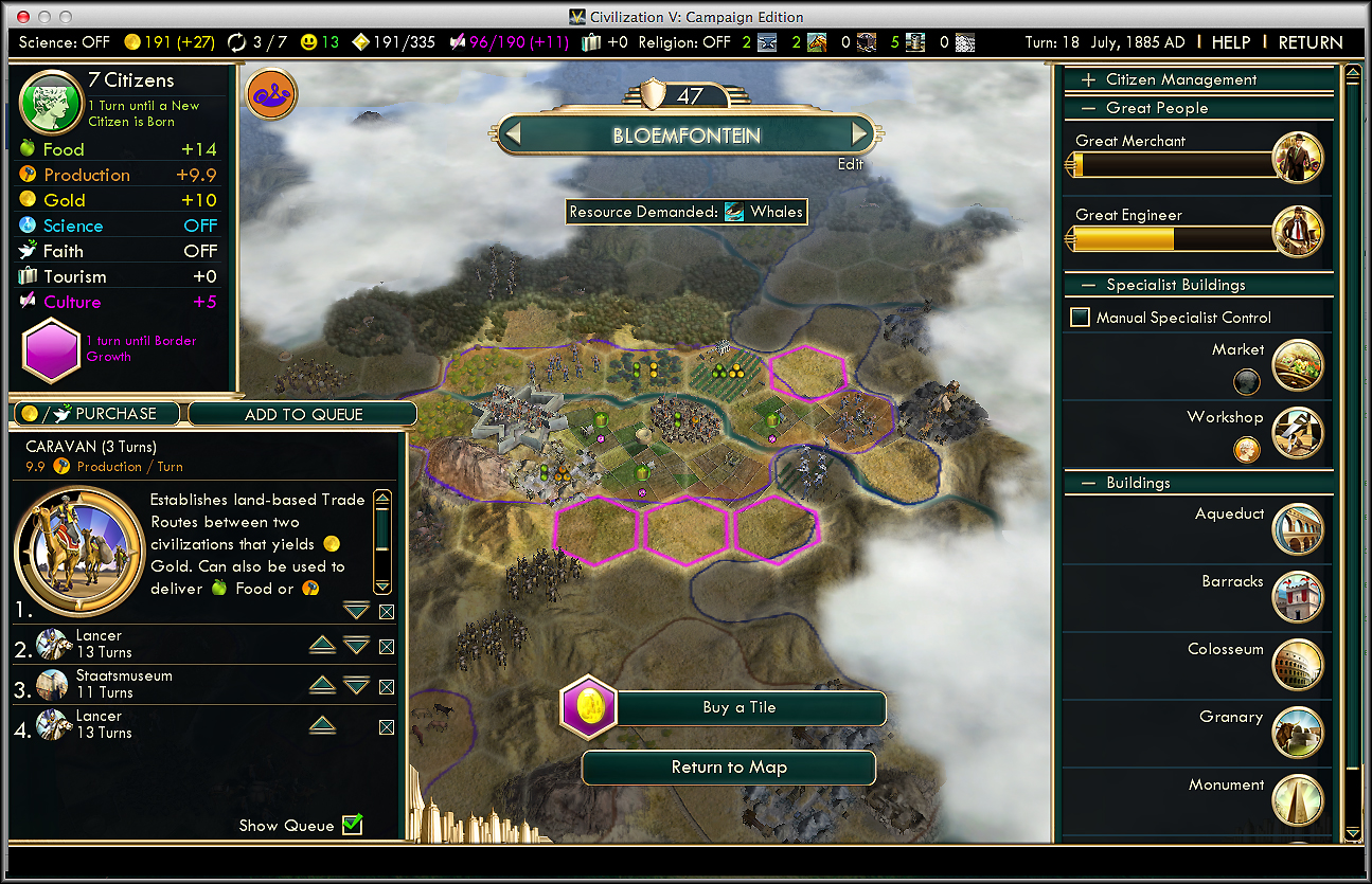 civ 3 how to bring luxury resources