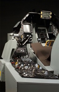 Commercially available home F-16C cockpit with all the trimmings.  (www.realsimulator.com)