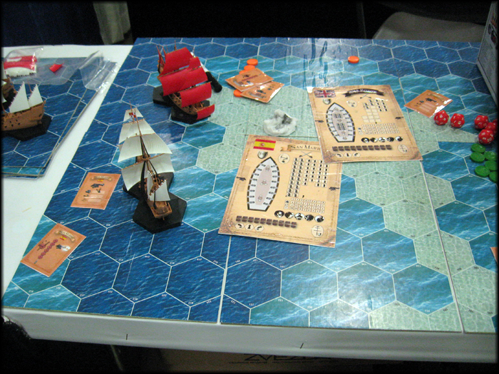 Age of Sail warfare from Zvezda