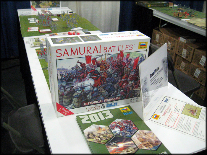 The Samurai Battle box