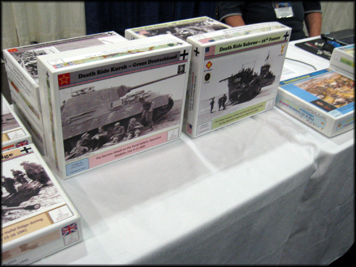 Grognard Simulations had their suite of WWII games on-hand