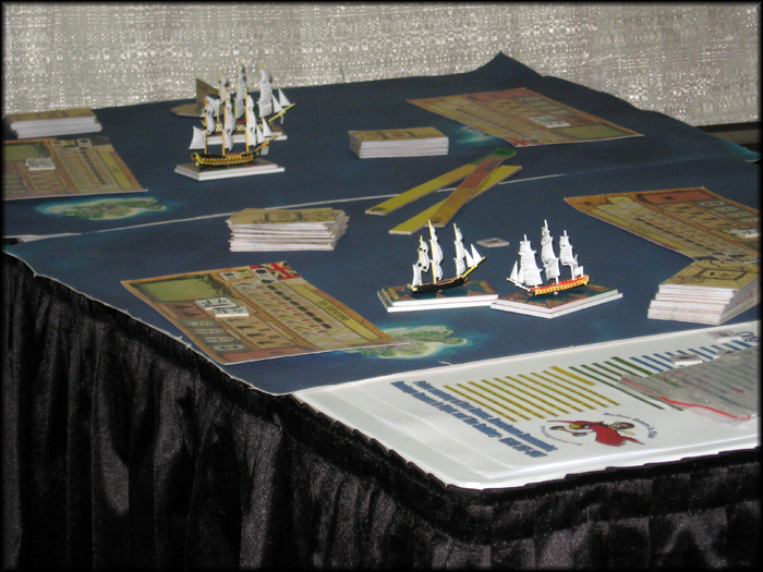 Sails of Glory on the table
