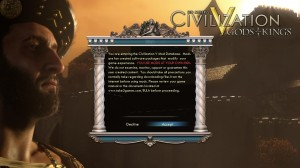 Your Guide to Civ V Modding MadnessStep 2 Accept