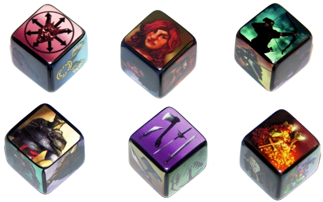 GARPA 28 - Encounter Dice