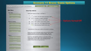 Figure 1-Scenario Options