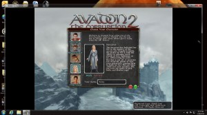 Avadon 2 Review-Picking a character