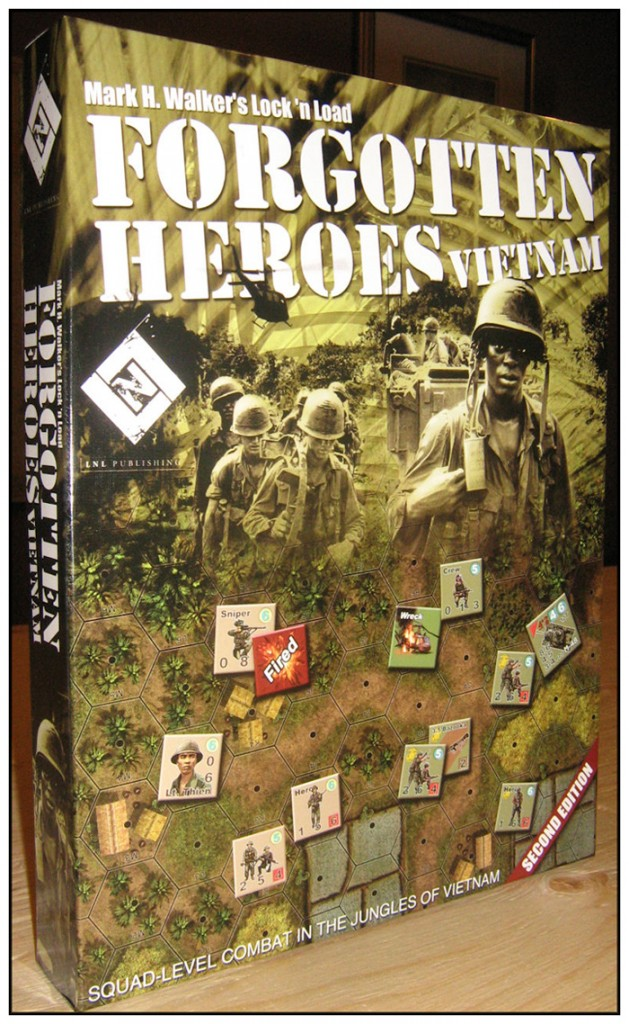 "New printing of Forgotten Heroes Second Edition from LnLP. Standard bookshelf size but only 1.5"" deep. Still plenty of room for contents."