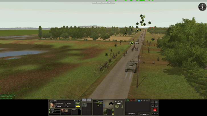 Thirty Corps advance up Hell's Highway – apparently this is the wide bit!!