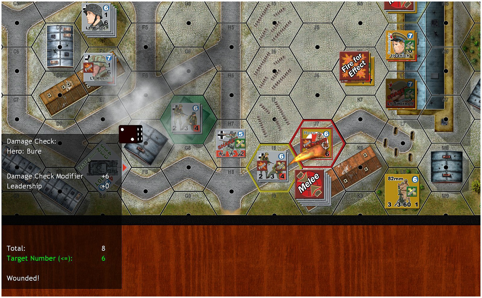 Pavlov and his team unwisely leave the safety of their house to assault a flamethrower unit