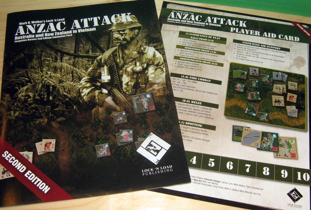 The booklet contains the few additional rules for AA and the 13 scenarios to expand the fighting.
