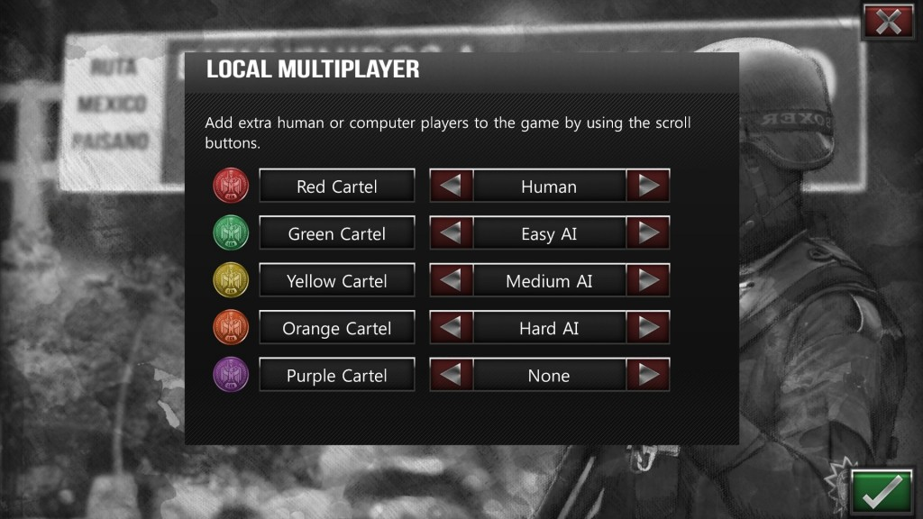 Local multiplayer is easy to set up, with extra AI opponents of varying ability if you wish.