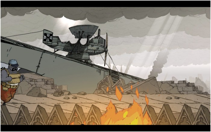 Zeppelins are portrayed in Valiant Hearts and you'll have to learn how to take them down!