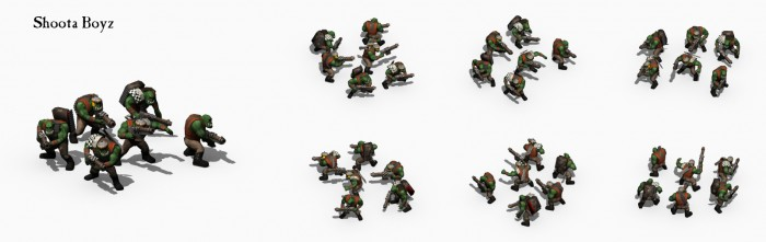 Some of the really nice hi-res artwork for Warhammer 40K Armageddon