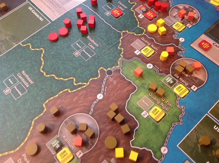 The COIN forces are pretty well entrenched in the highlands of Vietnam. Whether or not it stays that way is a different matter…