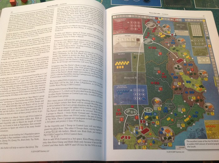 The full-color playbook document gives highly detailed examples of play.