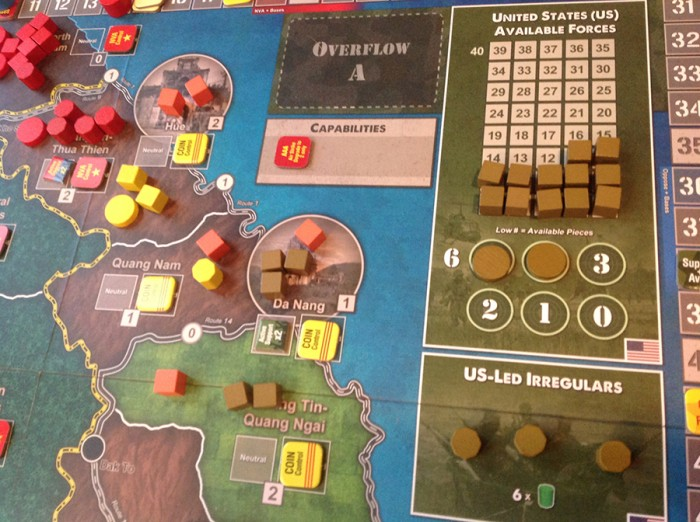 The US is dug in at Da Nang, but the NVA is building up in the north…