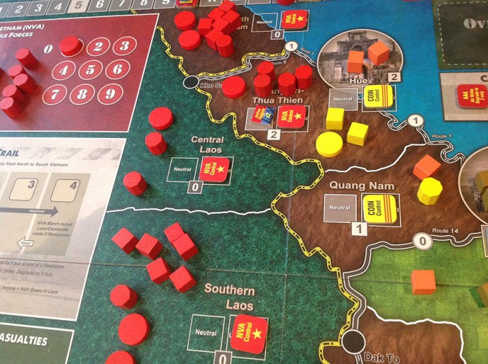 The NVA seem limitless in the north, and once the 'red tide' starts pouring forth, it'll be tough to plug the flood.