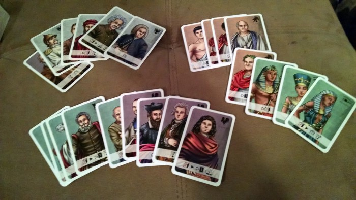 Advisor cards for each civilization.