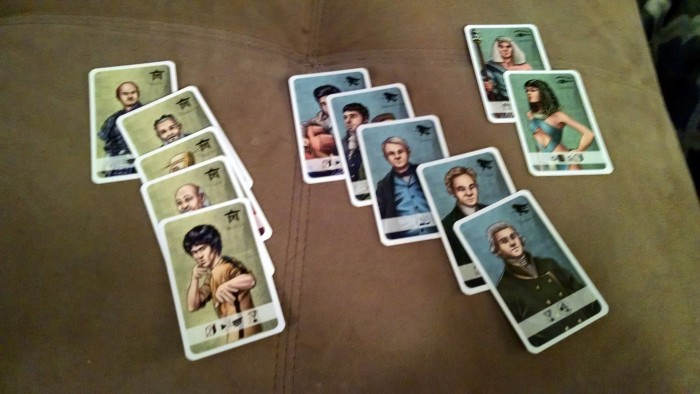 More advisor cards.  Yes, that's Bruce Lee.  And Elvis.