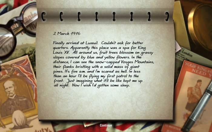 The flight journal is the main way missions are stitched together coherently in Wings.