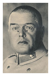 Colonel (later General) Max Hoffman. The staff officer whose strategy jointly devised with General Ludendorff for the German Eighth Army resulted in the victories at Tannenburg and the Masurian Lakes battles. Hindenburg and Ludendorff took all the credit.