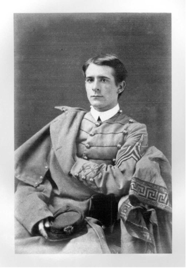 """""""Charles Adelle Lewis Totten, 1873.""""Photo courtesy of the USMA Special Collections & Archives."""