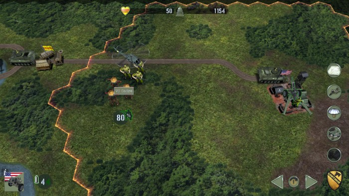 Fix with infantry, pound with artillery. A VC cadre is about to die.