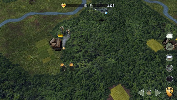 Green Berets spot VC on an RPG Mission, which will target vehicles, or helos within 3 hexes. I need infantry to take them out.
