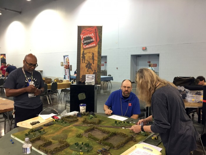 Minis wargaming with Proving Ground Games