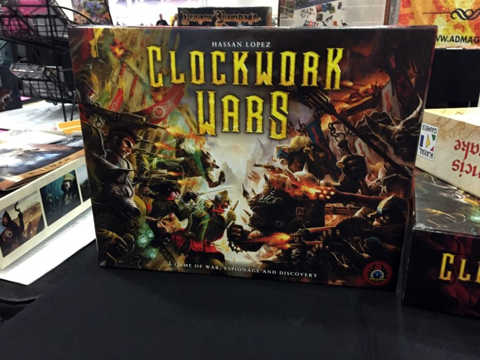 Eagle Games has some early production copies of Clockwork Wars, which we featured in an earlier GARPA.