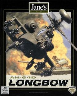 A boxshot of the original Jane's AH-64D Longbow
