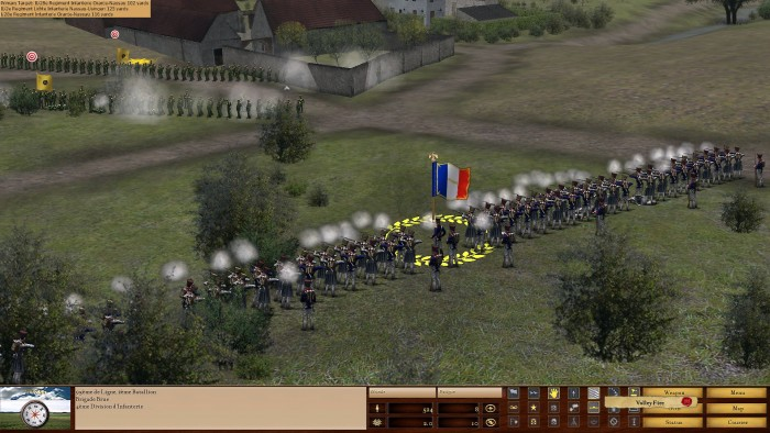 Volley fire!