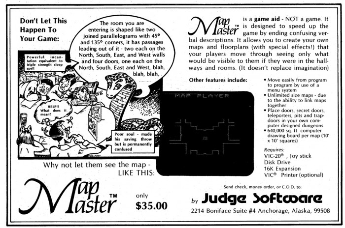 Very early computer mapping software.  Prices haven't changed much, though, have they?