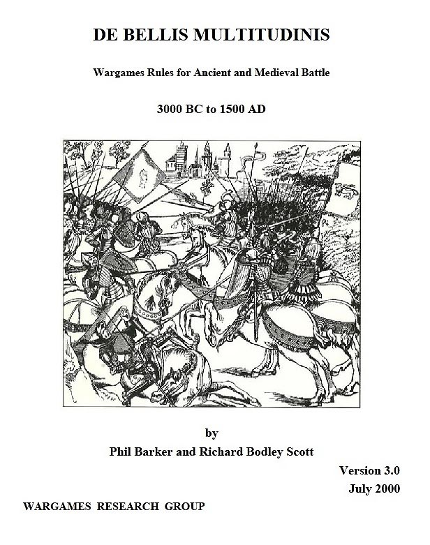 DBM had a huge impact on the ancient/medieval tabletop wargaming community (Image courtesy of Wargames Research Group). DBM 3.2 is freely available for personal use from WRG