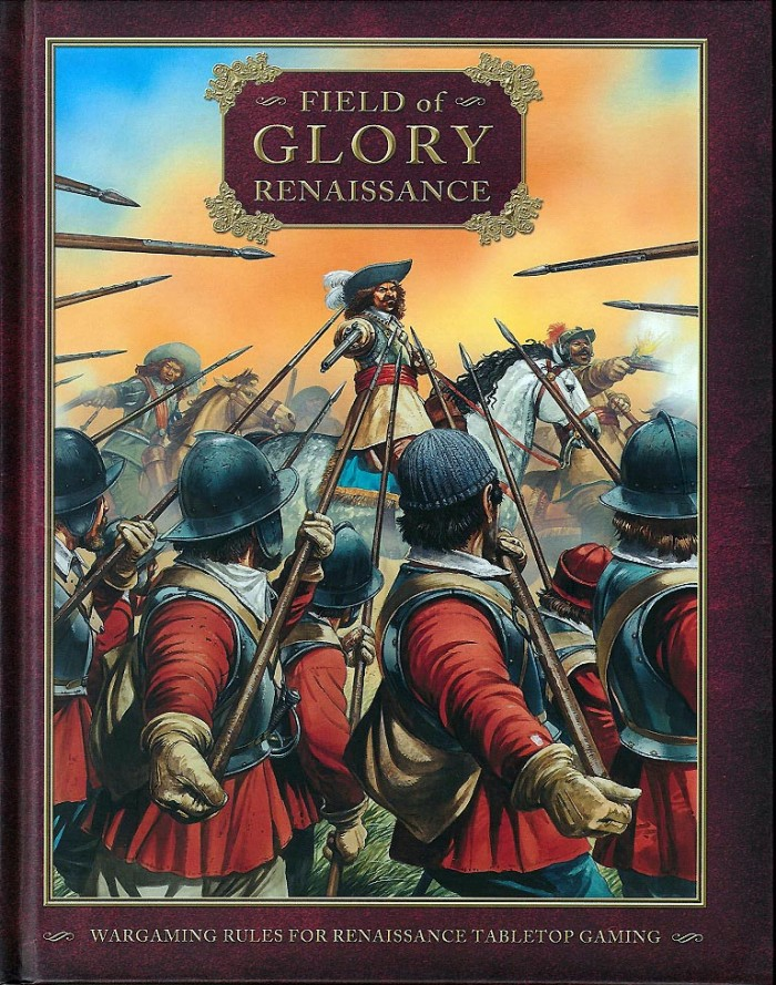 Field of Glory Renaissance is Richard's (and acknowledging his co-writers Charles Masefield and Nik Gaukroger) most recent contribution to table top Wargaming, building on his earlier experience of writing Field of Glory: Ancient and Medieval. (Image courtesy of Slitherine Ltd.).