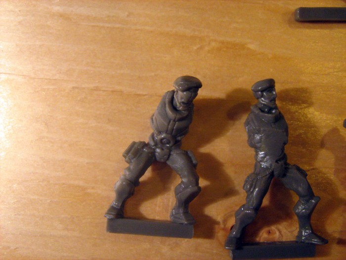 Closeup of EU Medic and Sergeant... well most of them anyway.