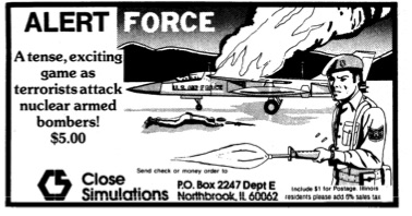 Anyone ever seen or played this one? These tiny ads were all over mid-80s magazines.