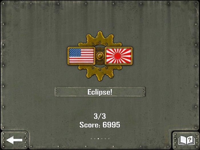 In the Eclipse campaign, you play as the U.S. against the Japanese, in the final stages of the war.