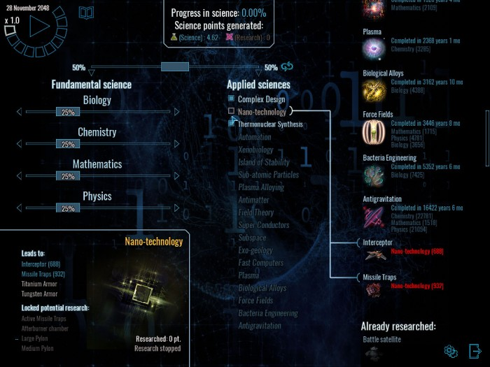 the research tree is very impressive!