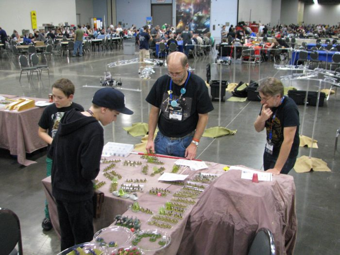 HQC in action at Origins