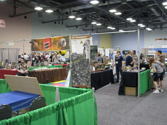 A view of Ft Kickass from the vendor side. The GrogHeads crew are behind them in this photo.