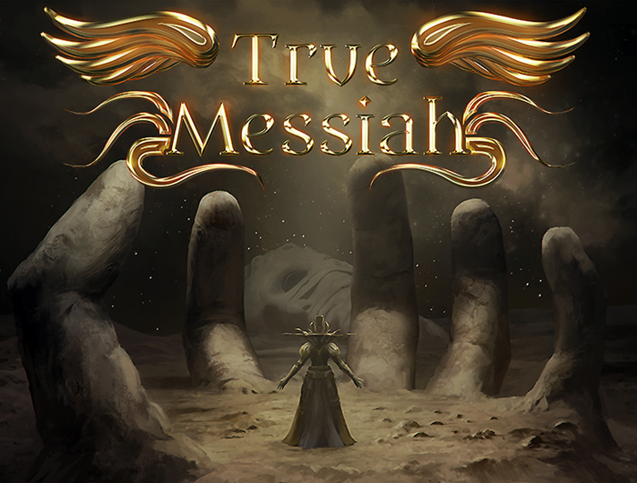 True Messiah - Logo w Box Art