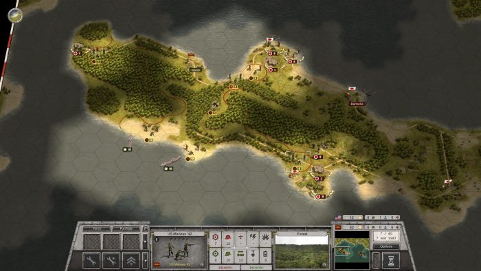 Turn 7 - Poor Supply Situation 3rd Wave on the Beach