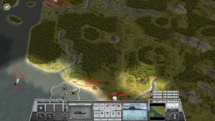 Targeting 2 oil depots