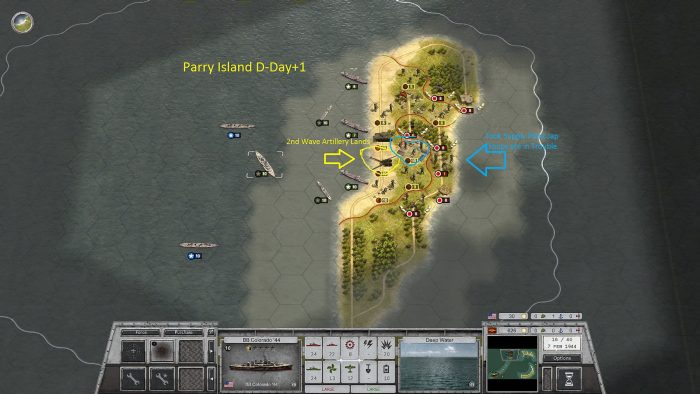 Parry Island D-Day +1