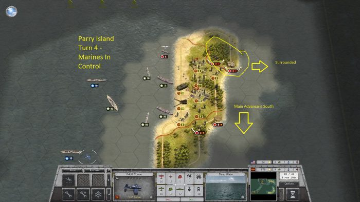 Parry Island Turn 4