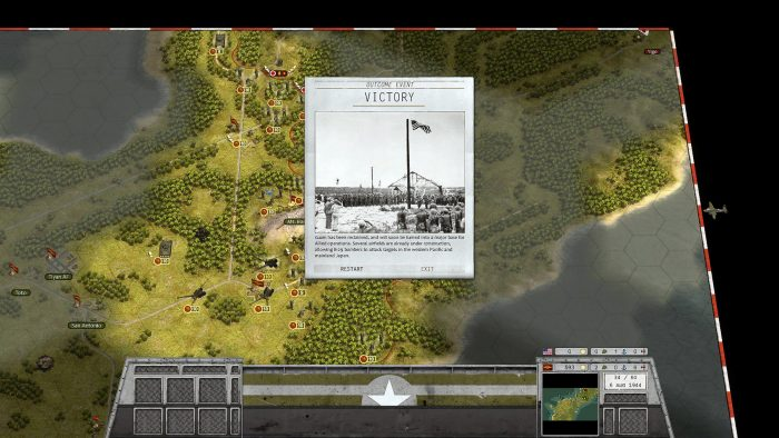 Victory in Guam - Turn 34 of 60