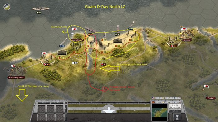 Guam D-Day North LZ