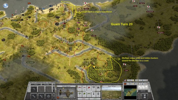 Guam Turn 20 & Moving Slow in the Jungle