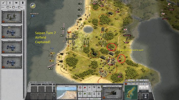 Turn 7 Capture Southern Airfield